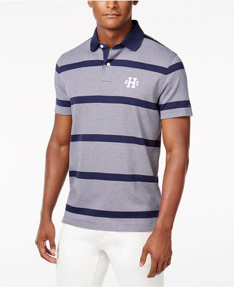 Tommy Hilfiger Men's Big & Tall Teague Striped Polo $69.50 thestylecure.com