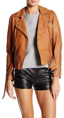 Muu Baa Muubaa Manning Leather Biker Jacket