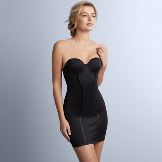 d8a3146e7b Maidenform Shapewear Easy-Up Firm Control Strapless Slip 2304 - Women s