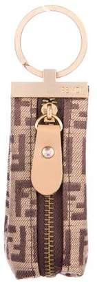 Fendi FF Zip Keychain