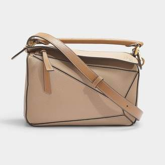 Loewe Puzzle Small Bag In Multicoloured Calfskin