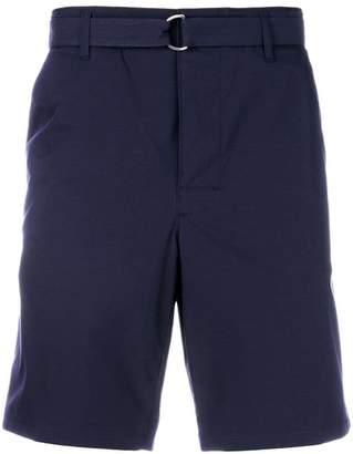 Prada belted chino shorts