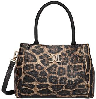 Juicy Couture Dawson Leopard Print Satchel