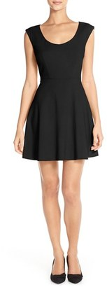 Women's French Connection Whisper Light Fit & Flare Dress $168 thestylecure.com