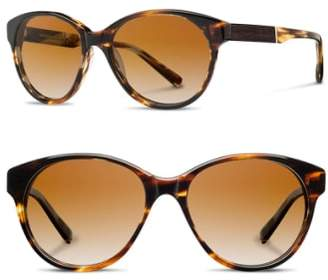 Shwood 'Madison' 54mm Polarized Sunglasses