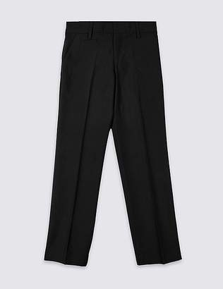 Marks and Spencer Boys' Slim Fit Slim Leg Trousers