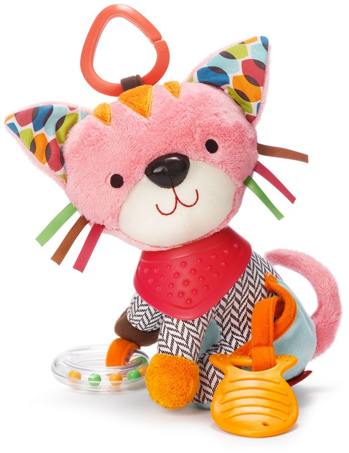 SKIP*HOP® Kitty Bandana Buddies Activity Toy