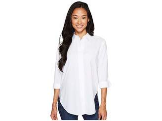 NYDJ Wide Placket Shirt Women's Long Sleeve Button Up