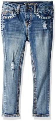 Vigoss Little Girls' Back Pocket Jean