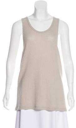 The Elder Statesman Sleeveless Cashmere Top