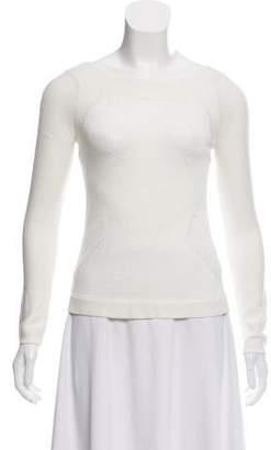 Helmut Lang Open Knit Lightweight Sweater
