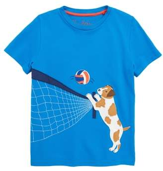 Boden Mini Beach Sports Applique T-Shirt