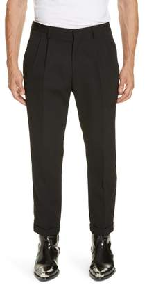 Calvin Klein Side Stripe Wool Pants