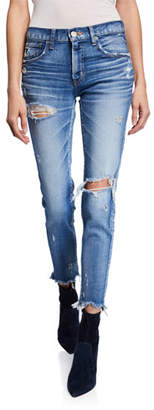 Moussy VINTAGE Ridgewood Distressed Skinny Jeans