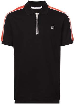 Givenchy zipped front polo shirt