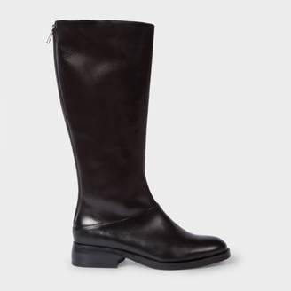 Women's Black Calf Leather 'Risley' Boots $475 thestylecure.com