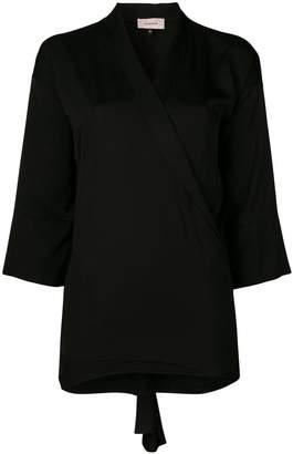 Murmur oversized bow blouse