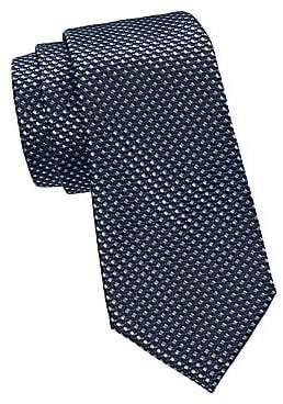 Ermenegildo Zegna Men's Geo Woven Silk Tie