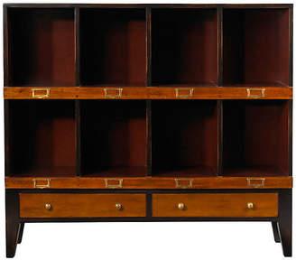 """French Heritage Felix 42"""" Bookcase - Auburn"""