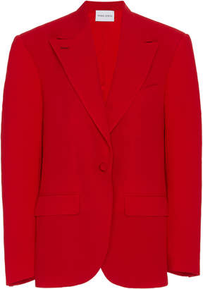 Prabal Gurung Tailored Crepe Single-Breasted Jacket Size: 00