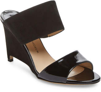 Paul Andrew Paavo Leather & Suede Wedge Sandal
