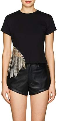 Area Women's Emile Crystal-Embellished T-Shirt