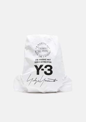 Y-3 Yohji Backpack Core White