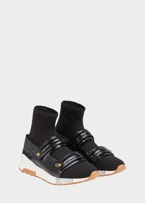 Versace Hercules Strap Sneakers