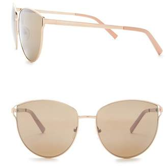 Kenneth Cole Reaction 58mm Metal Sunglasses