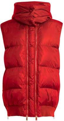 Stella McCartney Detachable-hood quilted gilet