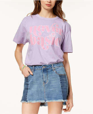 Barbie X Love Tribe Juniors' Never Basic Graphic T-Shirt
