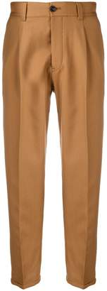 Pt01 front pleats straight trousers