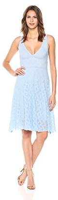 Only Hearts Women's Stretch Lace Halter Neck Dress