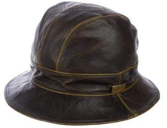 Christian Dior Cannage Leather Bucket Hat