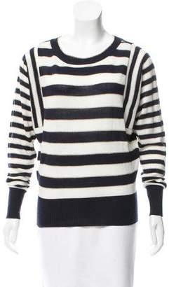 Ellen Tracy Striped Knit Sweater