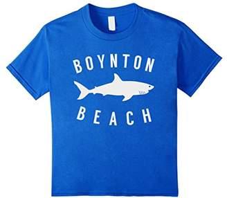 Boynton Beach Florida T Shirt Shark FL Souvenirs