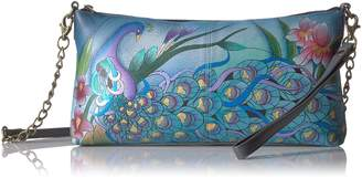 Anuschka ANNA by  Anna Handpainted Leather Convertible-Grey