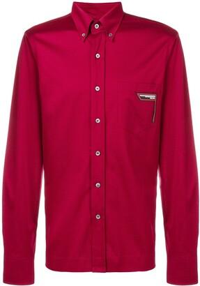 eeab2e05 Prada Red Men's Longsleeve Shirts - ShopStyle