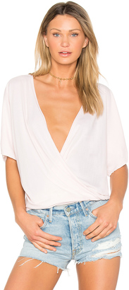 LA Made Ines Crossover Top $59 thestylecure.com