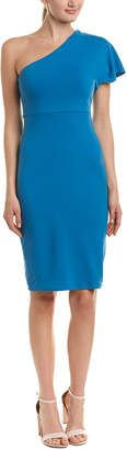 Susana Monaco One-Shoulder Sheath Dress