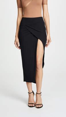 Michelle Mason Wrap Skirt
