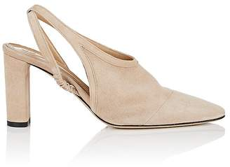 The Row Women's Camil Suede Slingback Pumps