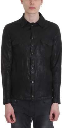Salvatore Santoro Black Leather Jacket