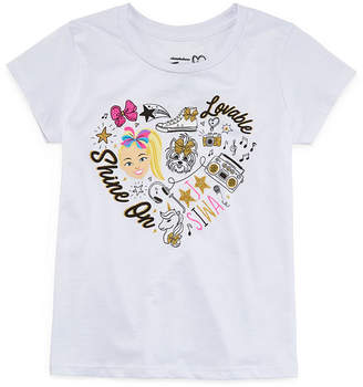 Jo-Jo JOJO Jojo Siwa Girls Round Neck Short Sleeve Graphic T-Shirt Preschool / Big Kid