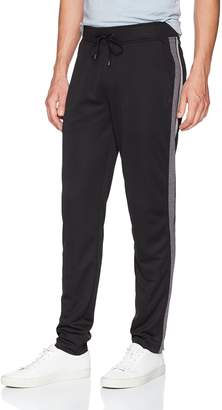 Calvin Klein Men's Knit Pant with 2 Tone Side Piecing
