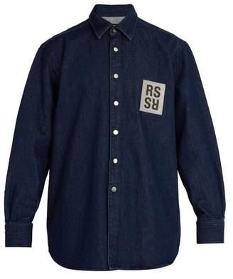 Raf Simons Denim Shirt - Mens - Dark Navy