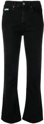 ALEXACHUNG Alexa Chung high-waisted flared jeans
