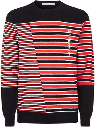 Givenchy Knitted Stripe Sweater