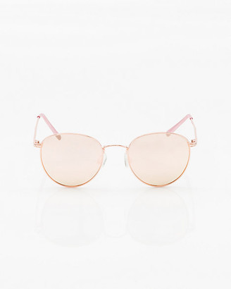 Le Château Mirrored Aviator Sunglasses