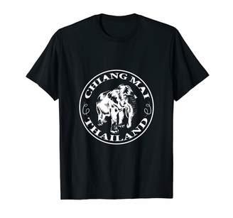 Sanctuary Backpacker Digital Nomad Gift, Present And Tee Chiang Mai Shirt Elephant Thailand Thai T-Shirt